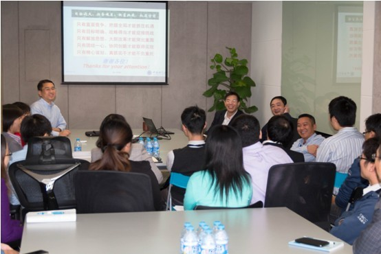 The Board Chairman of CAS Holdings Deng Maicun visited CECC